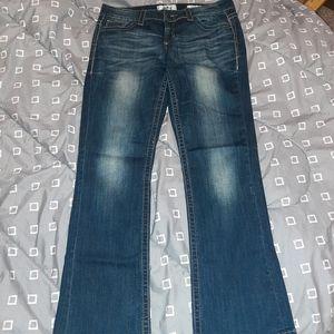 Daytrip Virgo Bootcut Jeans 30R Worn Hems